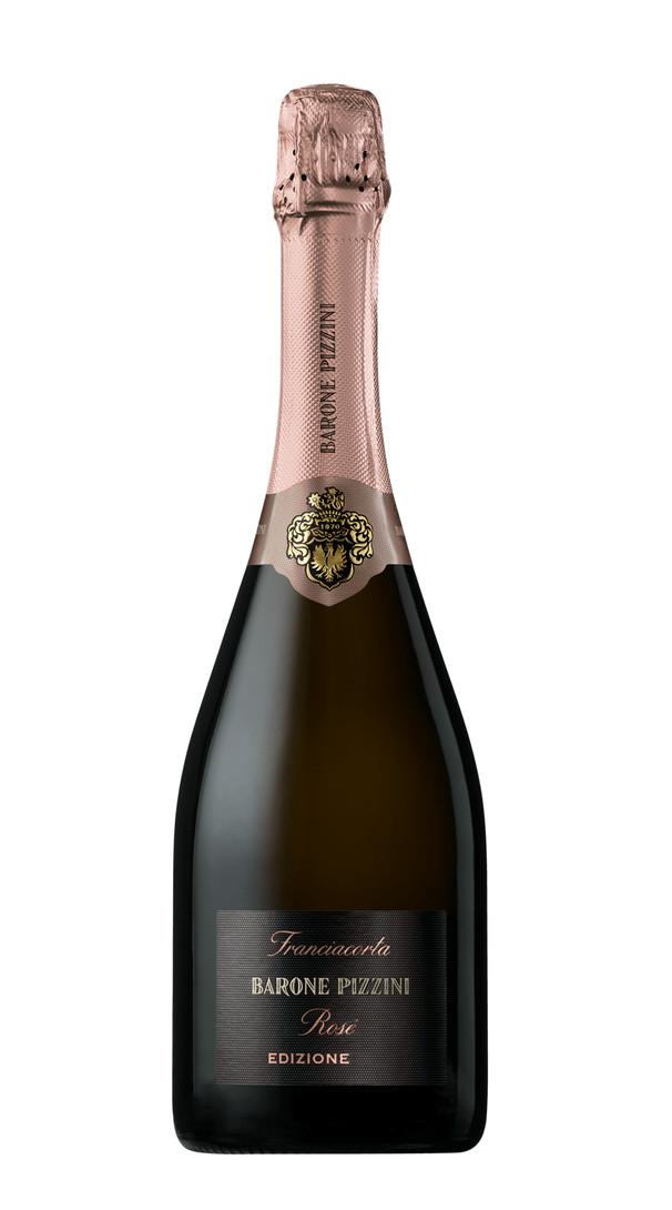 franciacorta rose extra brut barone pizzini 2016 27317