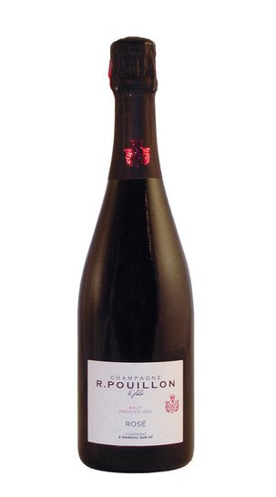 champagne rose de saignee brut premier cru roger pouillon 6764
